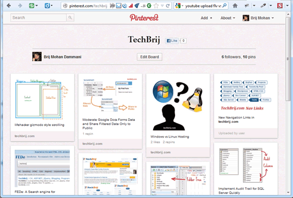 techbrij pinterest