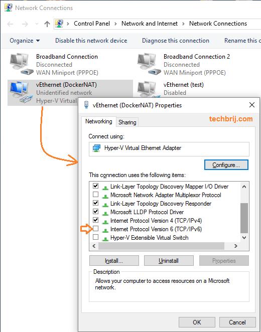 Troubleshooting Docker Issues on Hyper-V in Windows 10 - TechBrij