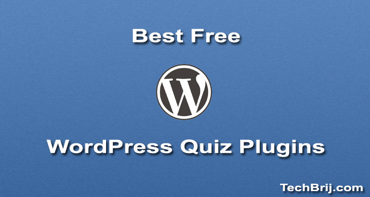 wordpress free quiz plugins