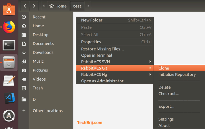 RabbitVCS: A TortoiseGit for Ubuntu - TechBrij