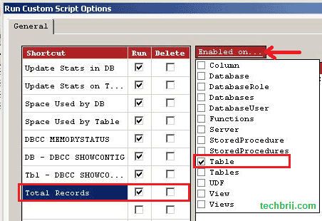 SSMS Tools Pack TechBrij 2 Run Your Custom Script Quickly with SSMS Tools Pack