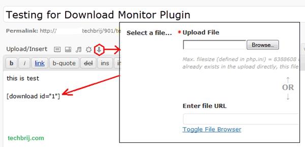 Display File Download Count in Wordpress - TechBrij