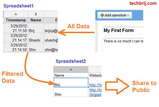 google-docs-form-filter-share